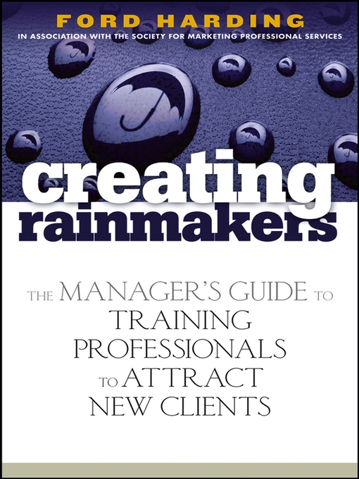 Title details for Creating Rainmakers by Ford Harding - Available