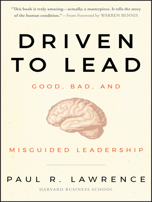 Driven To Lead New York Public Library Overdrive