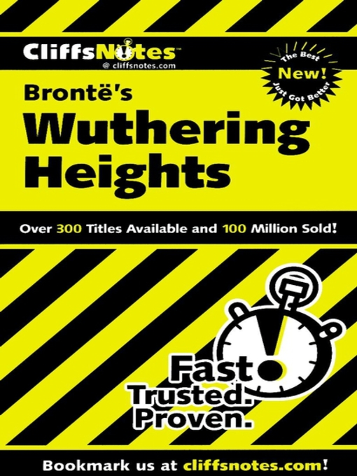 Title details for CliffsNotes Wuthering Heights by Richard P. Wasowski - Available
