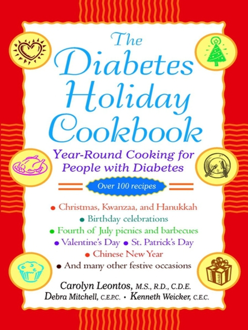 Title details for The Diabetes Holiday Cookbook by Carolyn Leontos - Available
