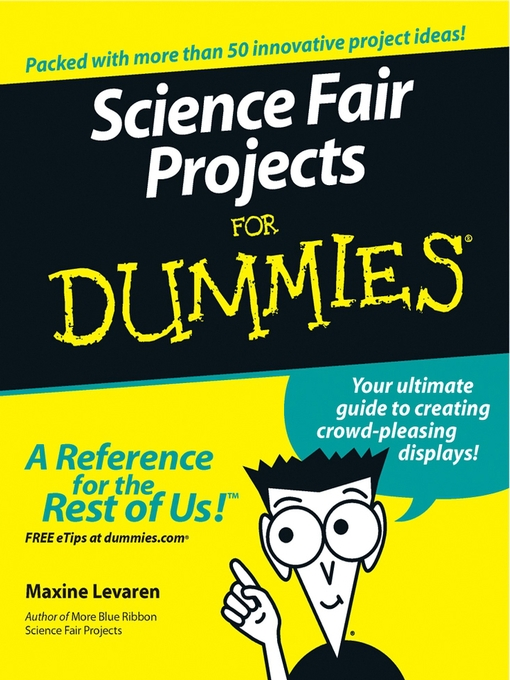 Cover of Science Fair Projects For Dummies