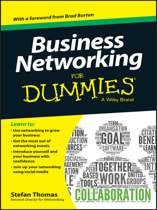 Title details for Business Networking For Dummies by Stefan Thomas - Available