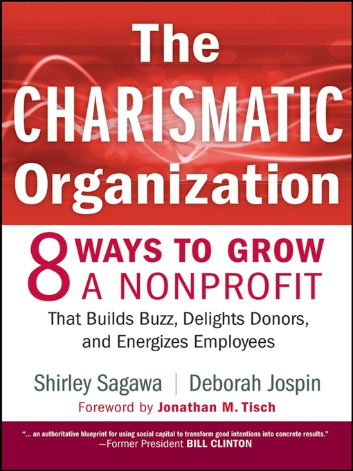 Title details for The Charismatic Organization by Shirley Sagawa - Available