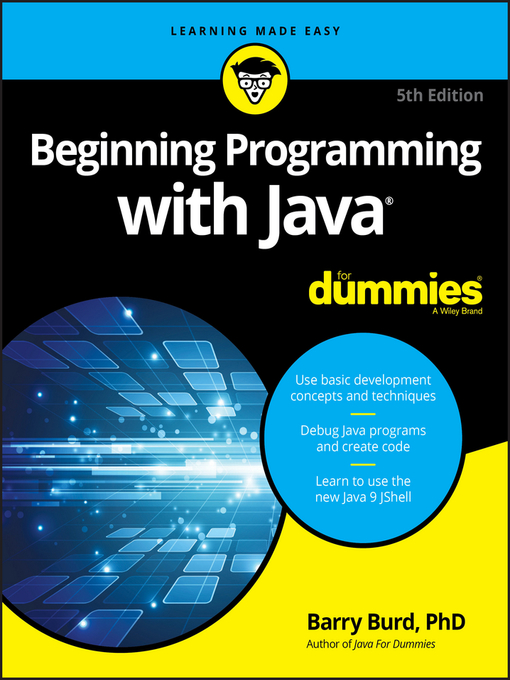 Cover of Beginning Programming with Java For Dummies