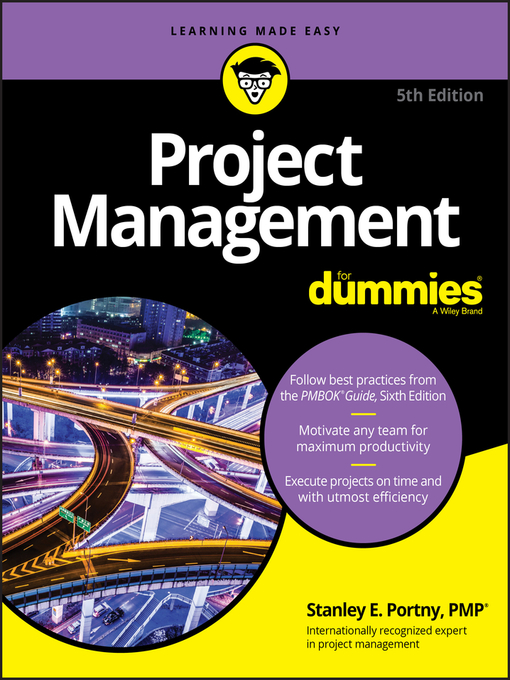 Title details for Project Management For Dummies by Stanley E. Portny - Available
