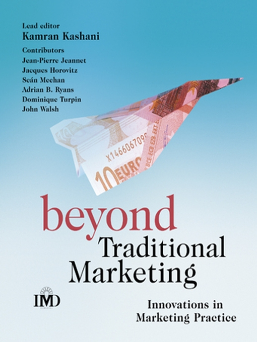 Cover of Beyond Traditional Marketing