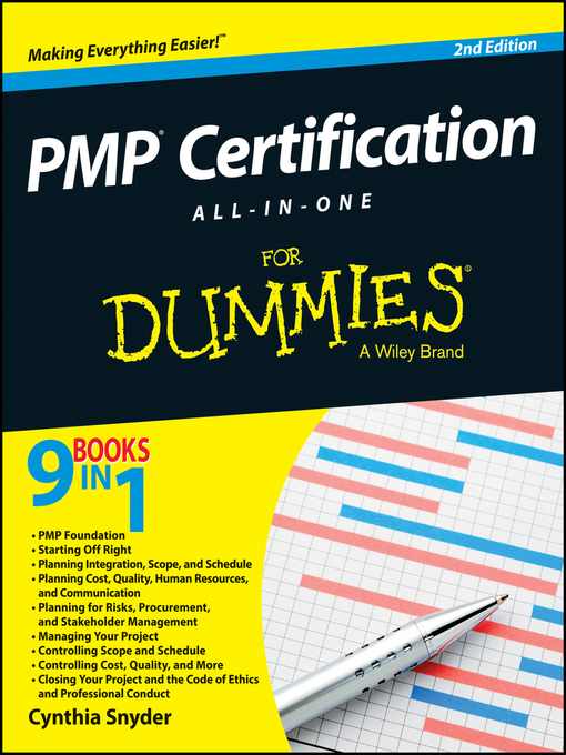 pmp certification all-in-one for dummies - national library board