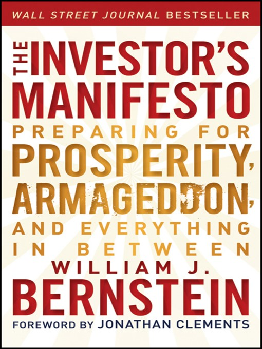 Title details for The Investor's Manifesto by William J. Bernstein - Available