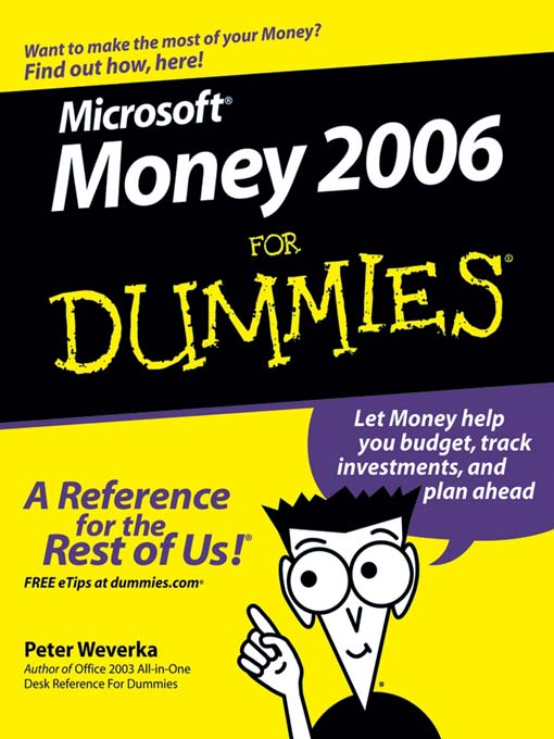 Title details for Microsoft Money 2006 For Dummies by Peter Weverka - Wait list