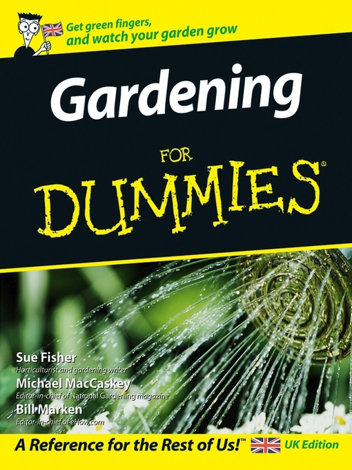 Title details for Gardening For Dummies by Sue Fisher - Wait list