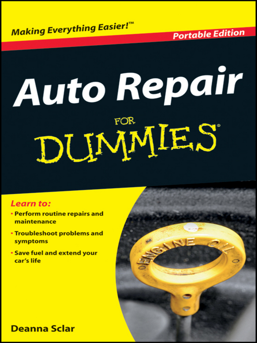 Title details for Auto Repair For Dummies<sup>®</sup> by Deanna Sclar - Available