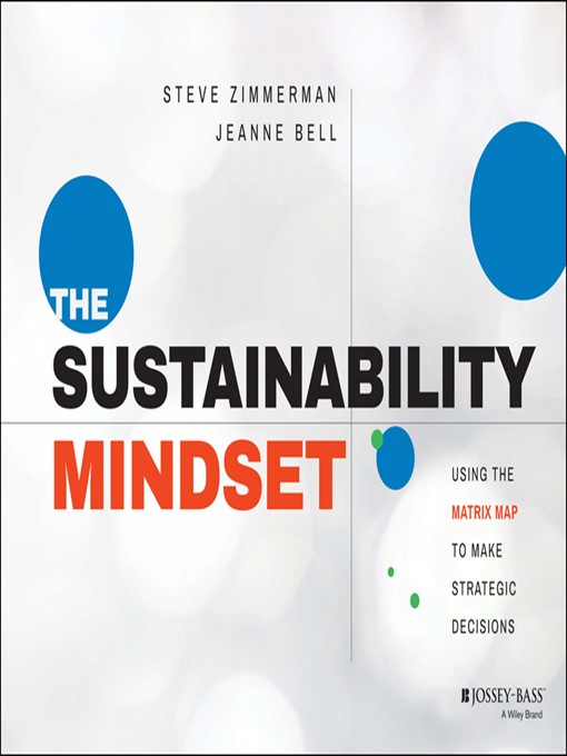 Title details for The Sustainability Mindset by Steve Zimmerman - Available
