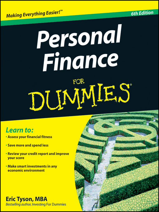 Title details for Personal Finance For Dummies by Eric Tyson - Available
