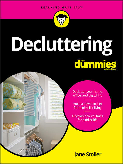 Title details for Decluttering For Dummies by Jane Stoller - Wait list
