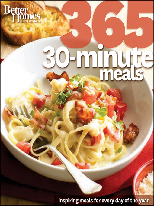 Title details for Better Homes & Gardens 365 30-Minute Meals by Wiley - Available