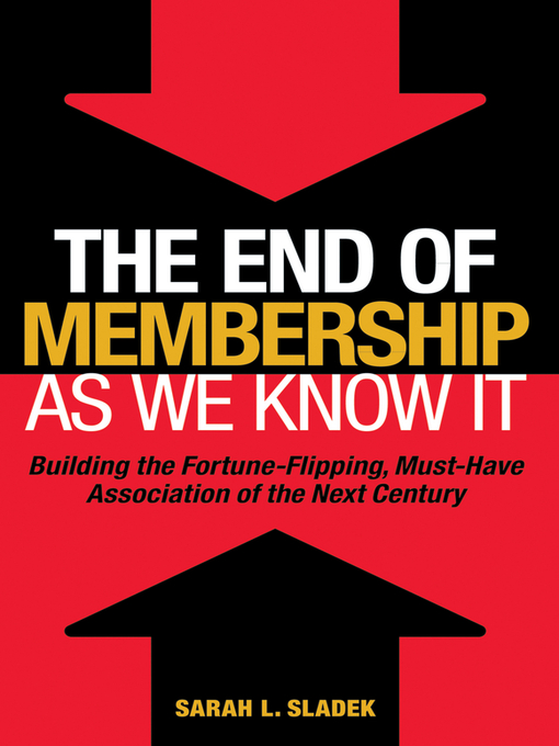 Cover of The End of Membership as We Know It