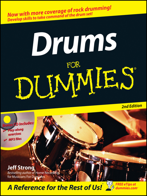 Title details for Drums For Dummies by Jeff Strong - Available