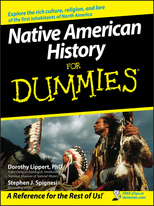 Title details for Native American History For Dummies by Dorothy Lippert - Available