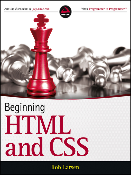 Title details for Beginning HTML and CSS by Rob Larsen - Available