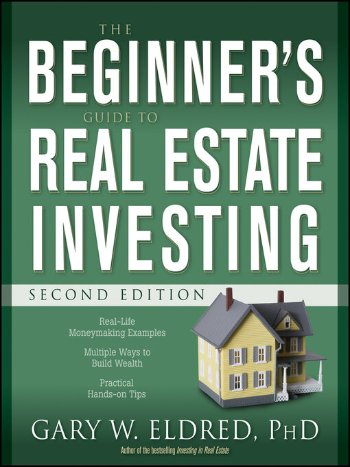 Cover of The Beginner's Guide to Real Estate Investing