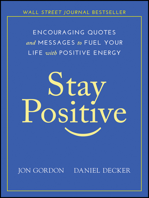 Cover of Stay Positive