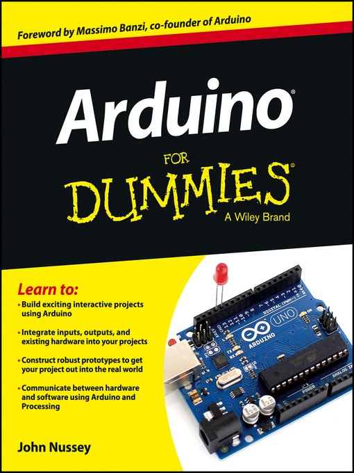 Title details for Arduino For Dummies by John Nussey - Wait list