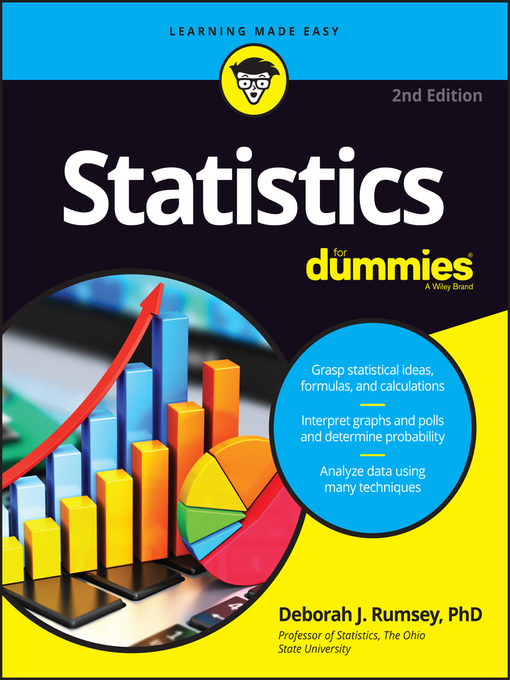 Title details for Statistics For Dummies by Deborah J. Rumsey - Available
