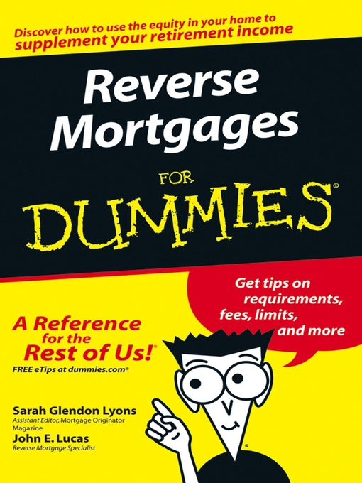 Title details for Reverse Mortgages For Dummies by Sarah Glendon Lyons - Available