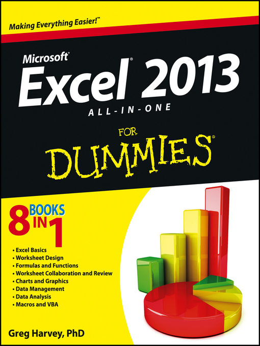 Title details for Excel 2013 All-in-One For Dummies by Greg Harvey - Available