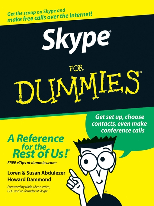 Title details for Skype For Dummies by Loren Abdulezer - Available