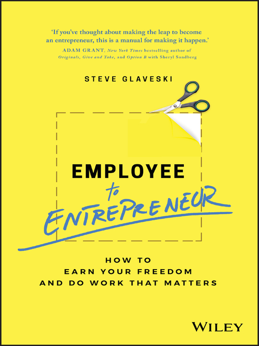Title details for Employee to Entrepreneur by Steve Glaveski - Available