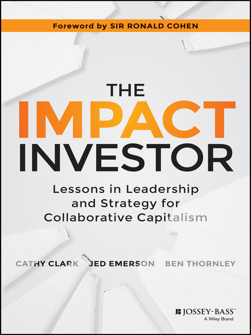 Cover of The Impact Investor