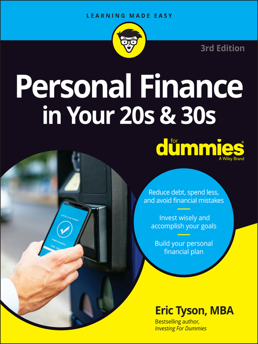 Title details for Personal Finance in Your 20s & 30s For Dummies by Eric Tyson - Available
