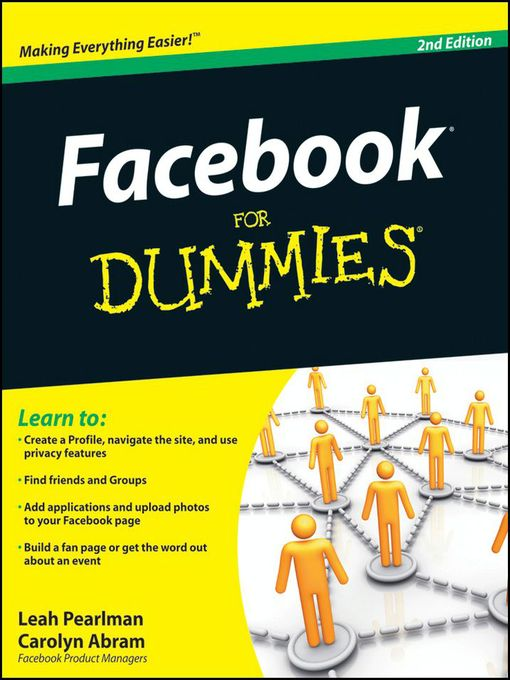 Title details for Facebook For Dummies by Leah Pearlman - Available