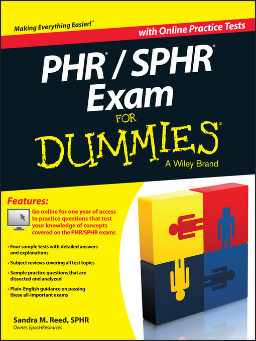 Phr Sphr Exam For Dummies New York Public Library Overdrive