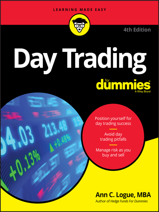 Title details for Day Trading For Dummies by Ann C. Logue - Wait list