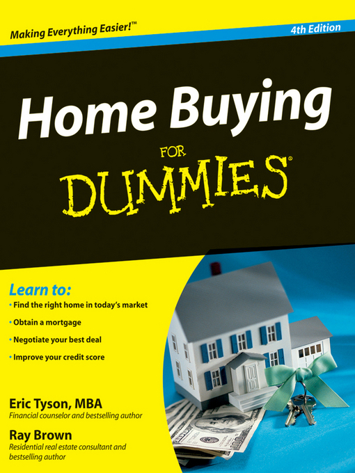 Title details for Home Buying For Dummies® by Eric Tyson - Available