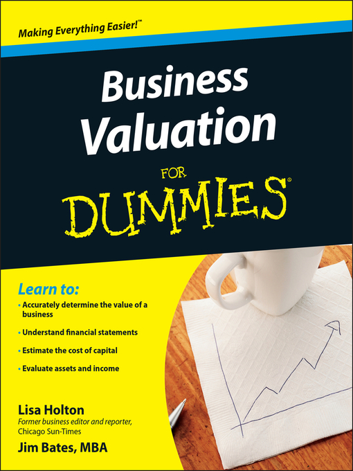 Title details for Business Valuation For Dummies® by Lisa Holton - Available