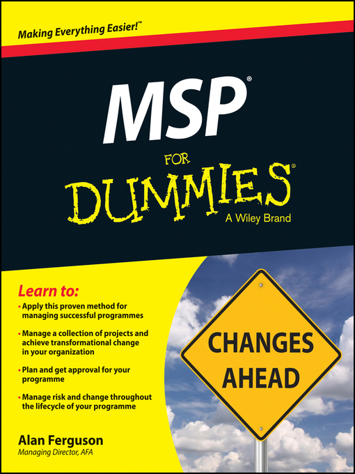Title details for MSP For Dummies by Alan Ferguson - Available
