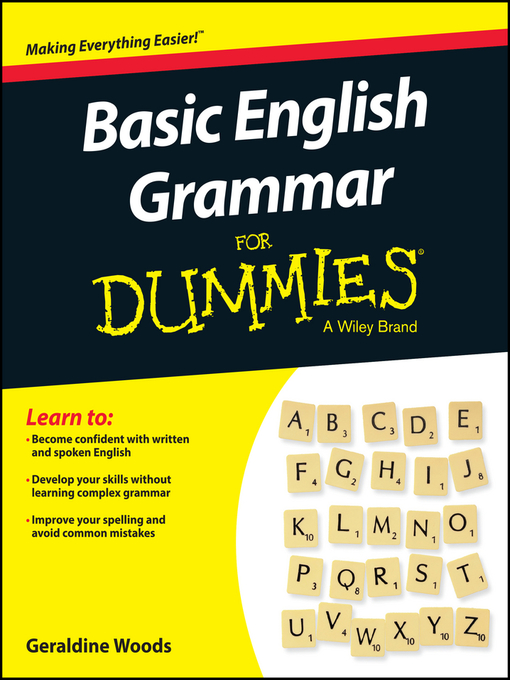 Title details for Basic English Grammar for Dummies by Geraldine Woods - Available