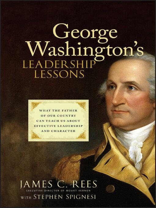 a history of espionage under the leadership of george washington