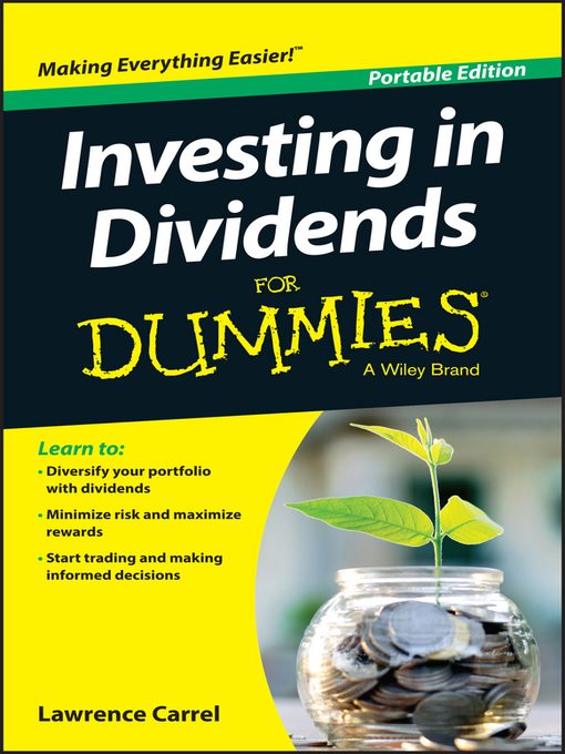 Title details for Investing In Dividends For Dummies by Lawrence Carrel - Available