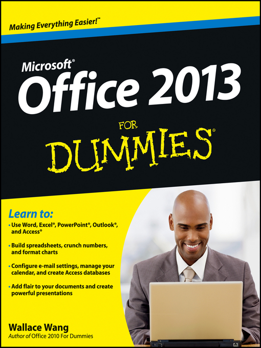Title details for Office 2013 For Dummies by Wallace Wang - Available