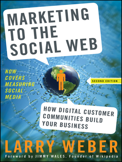 Cover of Marketing to the Social Web