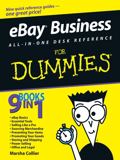 Title details for eBay Business All-in-One Desk Reference For Dummies by Marsha Collier - Available