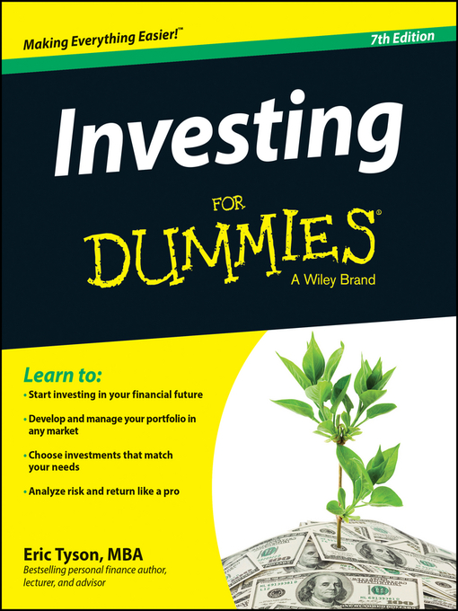 Title details for Investing For Dummies by Eric Tyson - Wait list