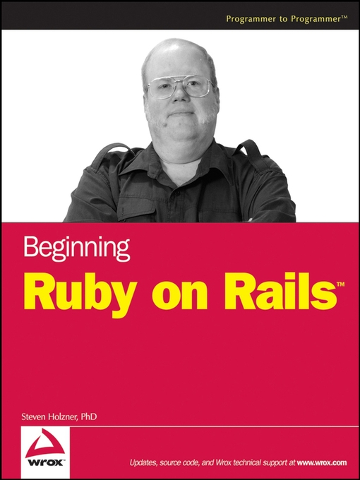 Title details for Beginning Ruby on Rails by Steve Holzner - Available