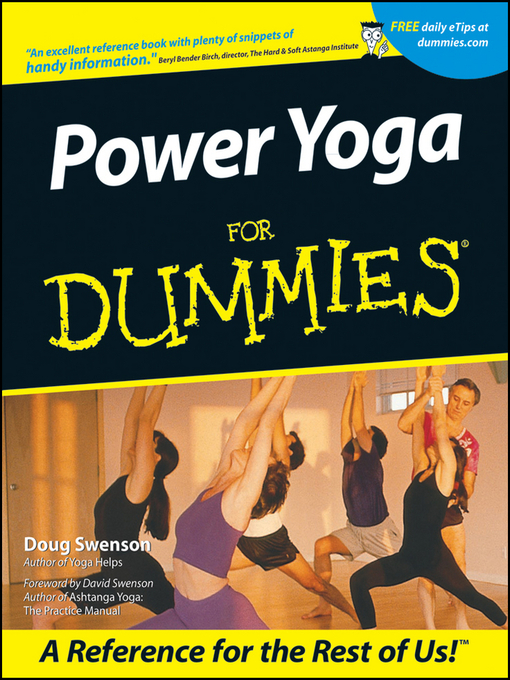 Cover image for power yoga for dummies