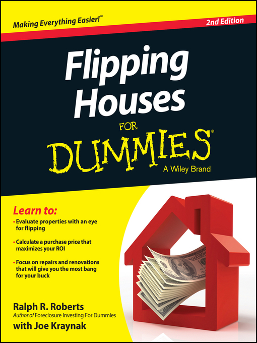 Title details for Flipping Houses For Dummies by Ralph R. Roberts - Wait list