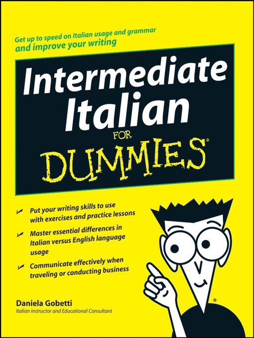 Title details for Intermediate Italian For Dummies® by Daniela Gobetti - Available